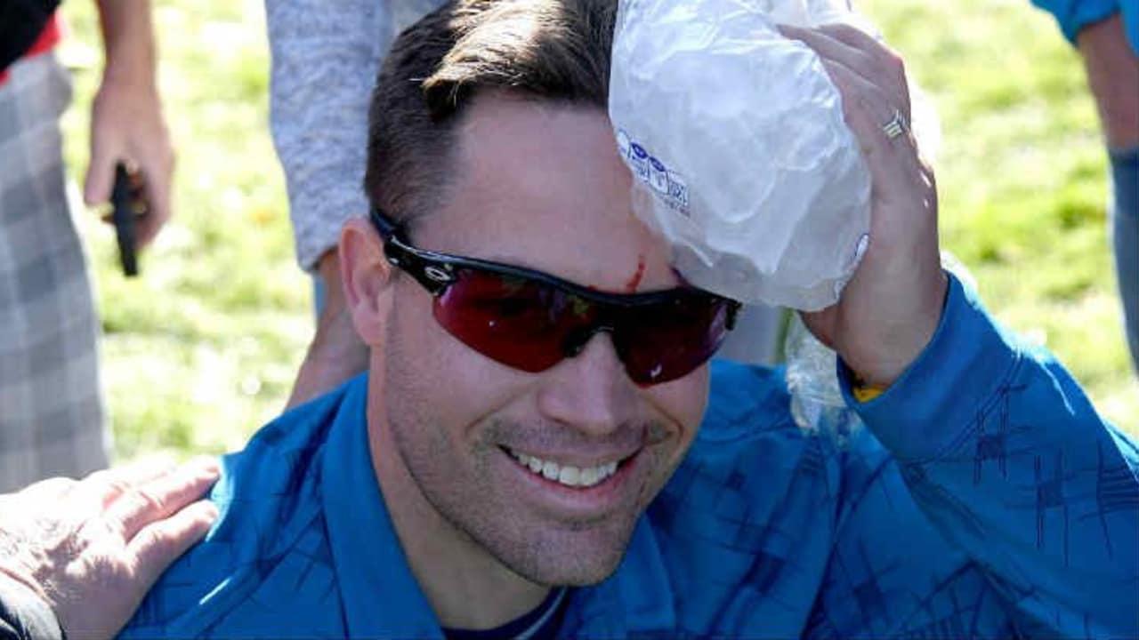 Kopfverletzungen stellen eine große Gefahr beim Golf dar. (Foto: Getty)