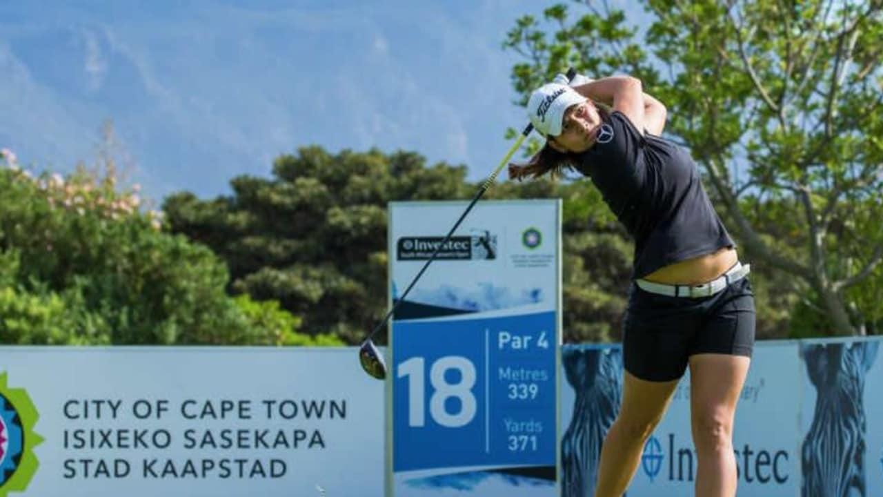 Karolin Lampert fährt ihr bestes Karriereergebnis auf der Ladies European Tour ein. (Foto: Twitter/@LETgolf)