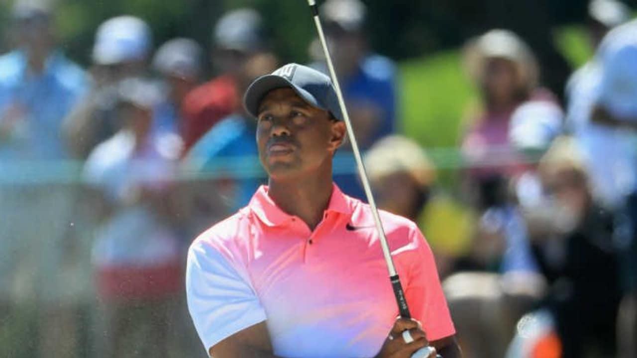 Tiger Woods platziert sich vor dem Wochenende auf der PGA Tour in den Top 20. (Foto: Getty)