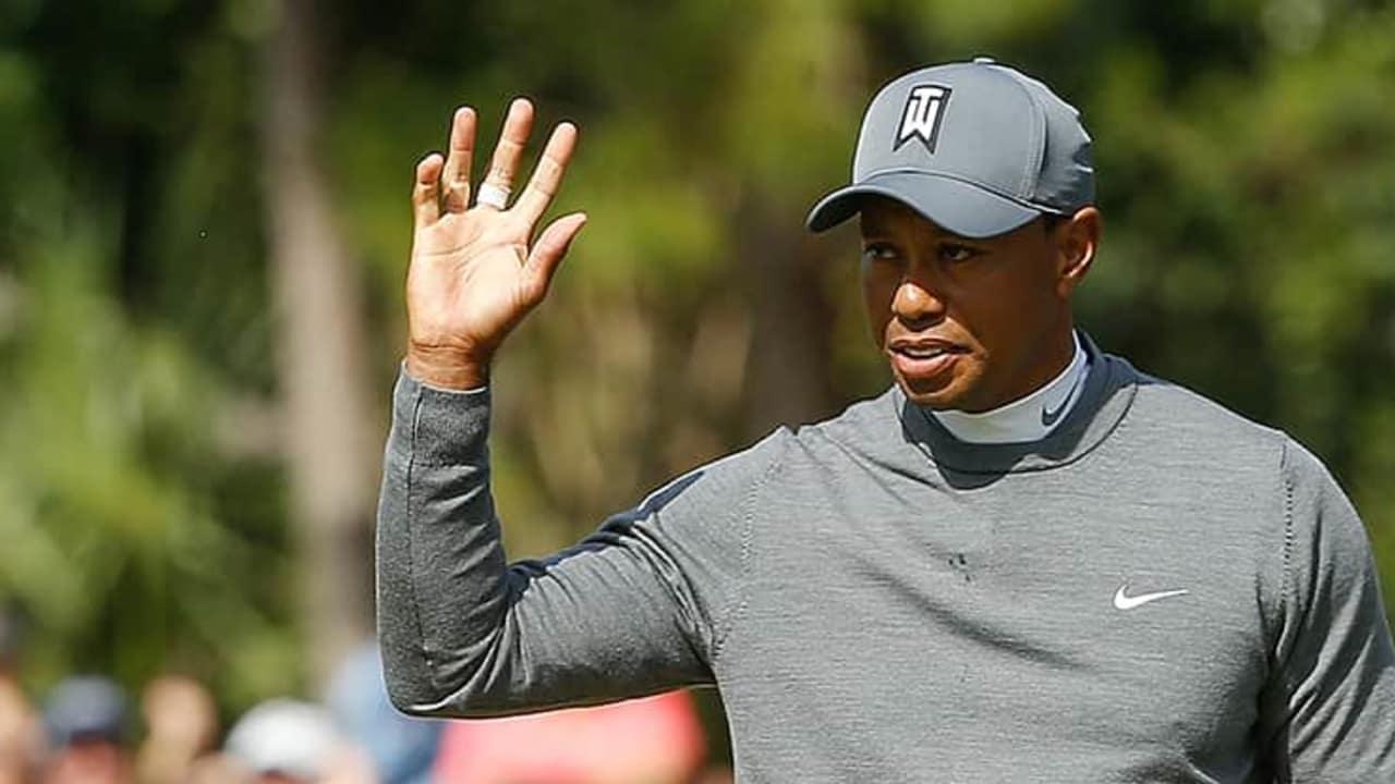 PGA Tour Valspar Championship 2018 Tiger Woods Runde 1