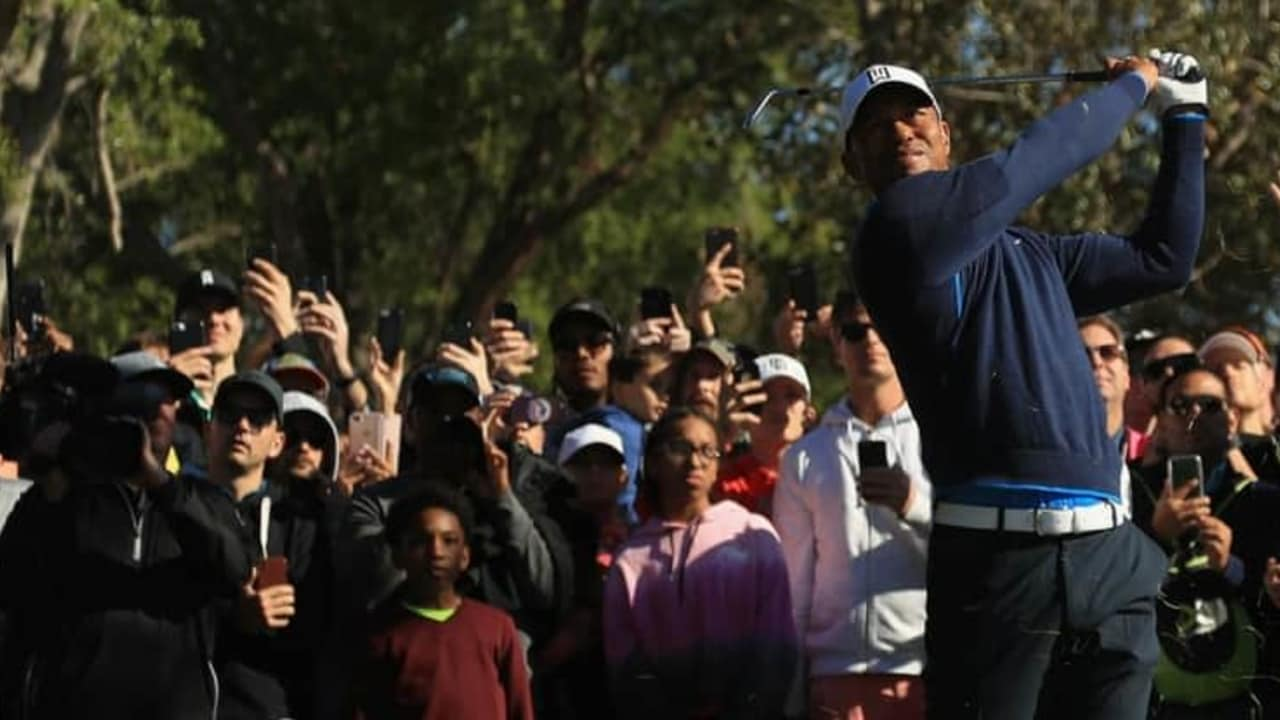 Tiger Woods zeigt auf der PGA Tour erneut eine starke Leistung. (Foto: Getty)