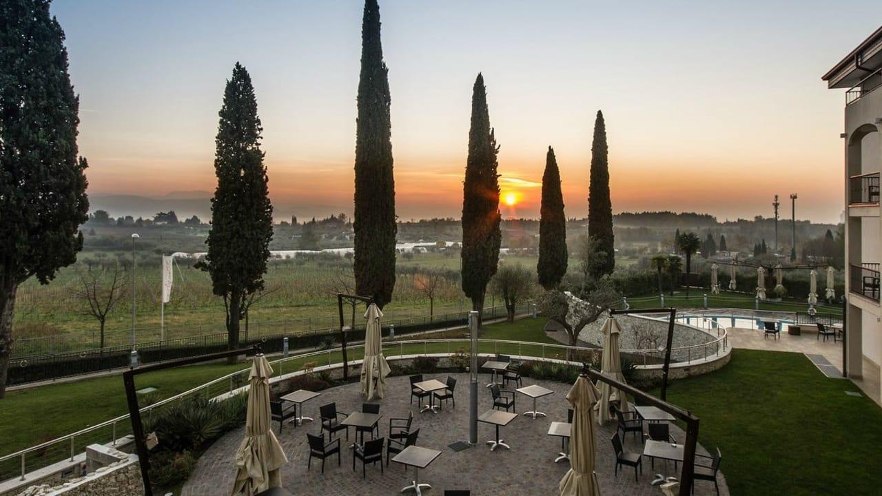 Die Seele baumeln lassen im Villa Luisa Resort &Spa am Gardasee. (Foto: Hotel Villa Luisa Resort & Spa)