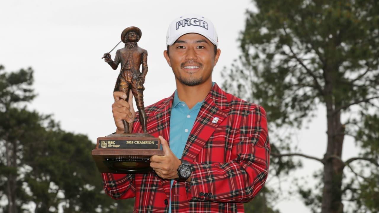 Satoshi Kodaira gewinnt die RBC Heritage auf der PGA Tour. (Foto: Getty)