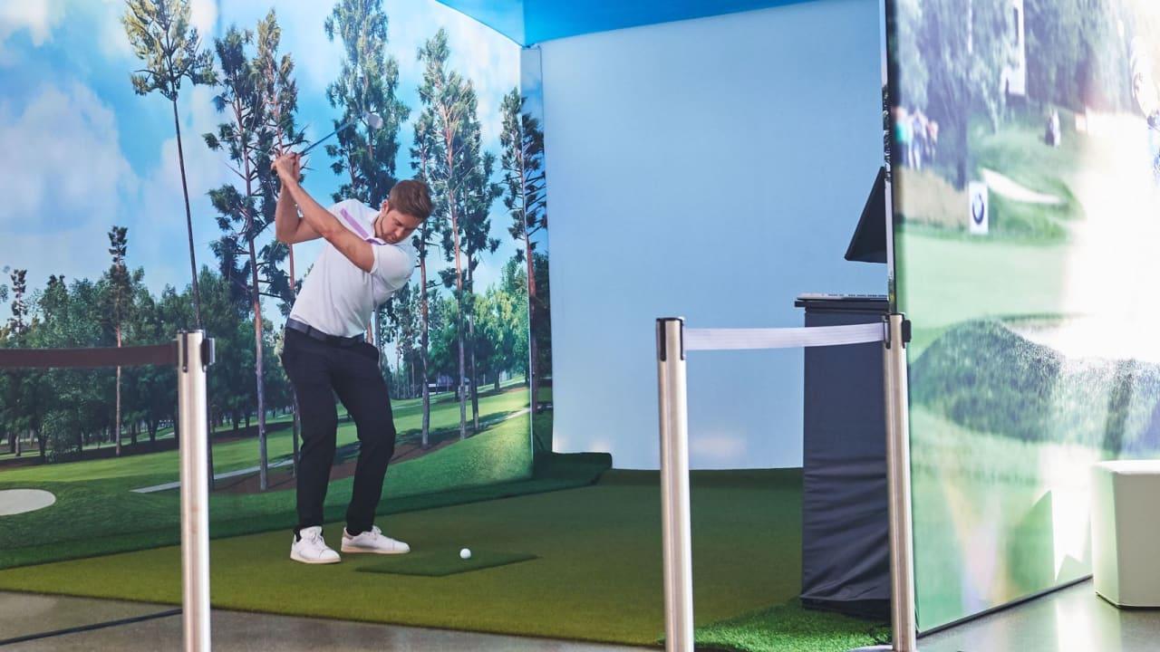 Mit dem Trackman lässt sich das Golfspiel analysieren und trainieren - und bei der BMW TrackMan Open winken dafür sogar Preise. (Foto: BMW)