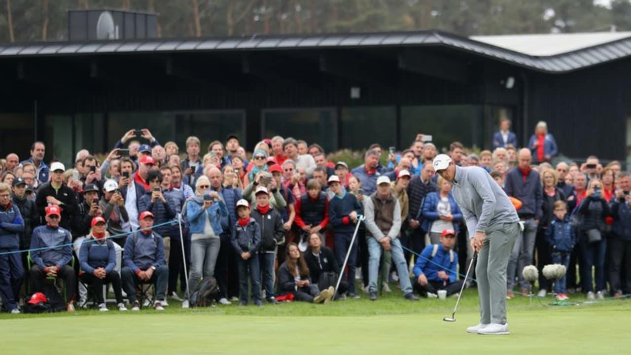 Nicolas Colsaerts brachte die Zuschauer am dritten Tag des Belgian Knockout auf der European Tour zum Jubeln. (Foto: Getty)