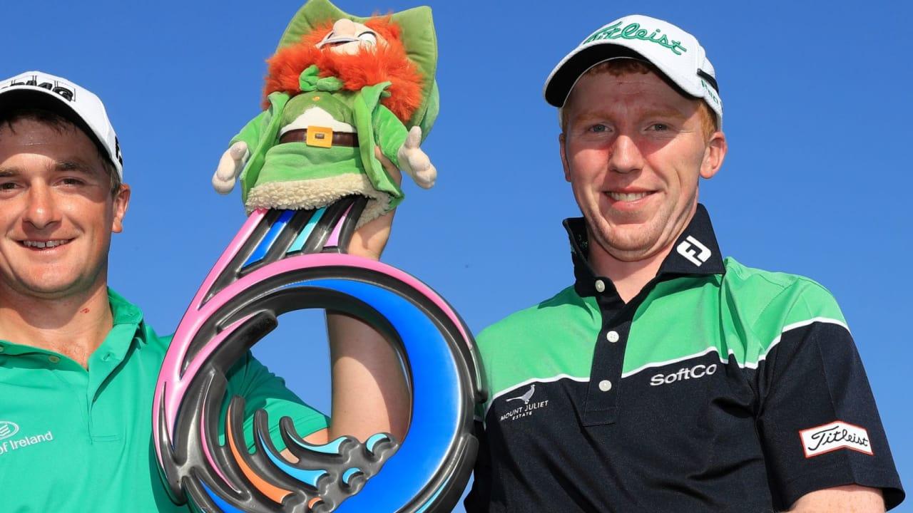 Paul Dunne und Gavin Moynihan gewinnen die GolfSixes der European Tour. (Foto: getty)