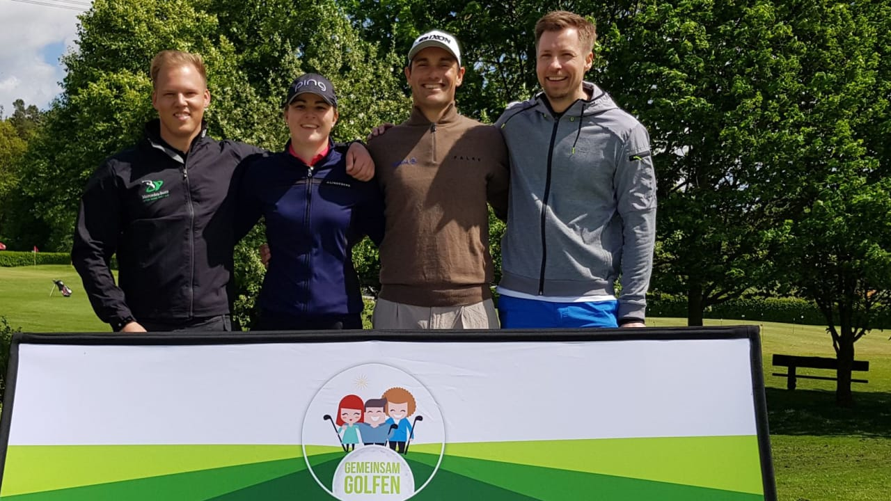 Gemeinsam Golfen mit European Tour Profi Florian Fritsch