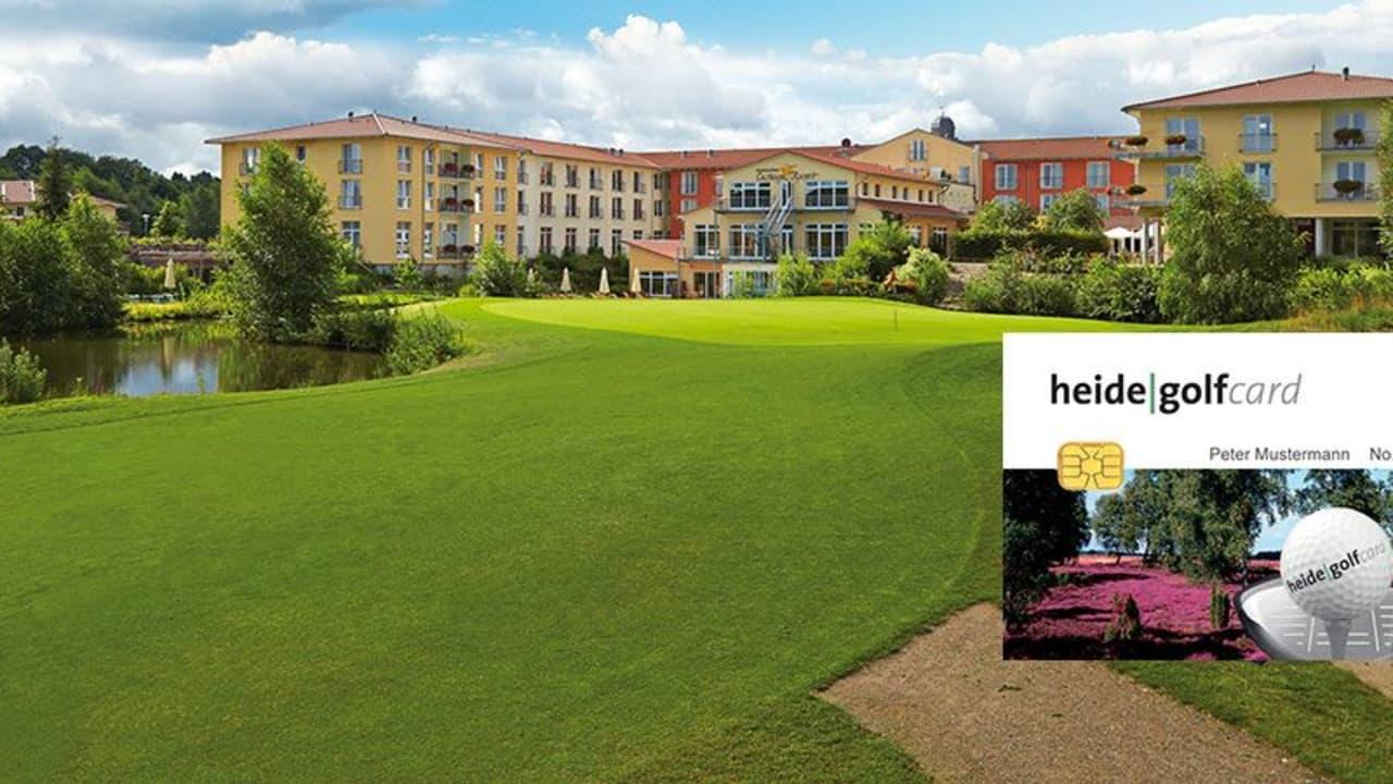 Auch das Castanea Golf Resort Adendorf können Sie mit der Heide Golf Card spielen. (Foto: Castanea Golf Resort Adendorf)
