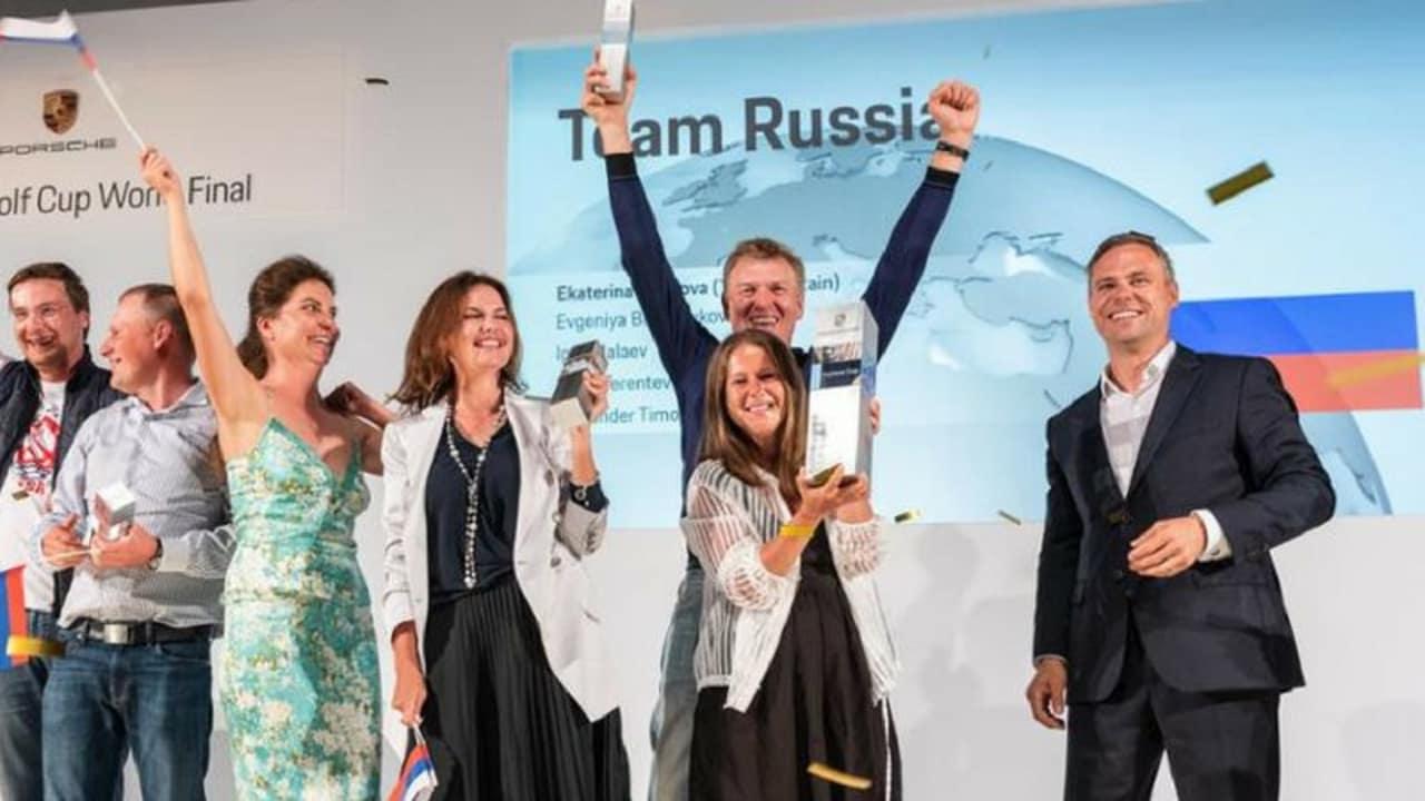 Team Russland_Prosche Golf Cup