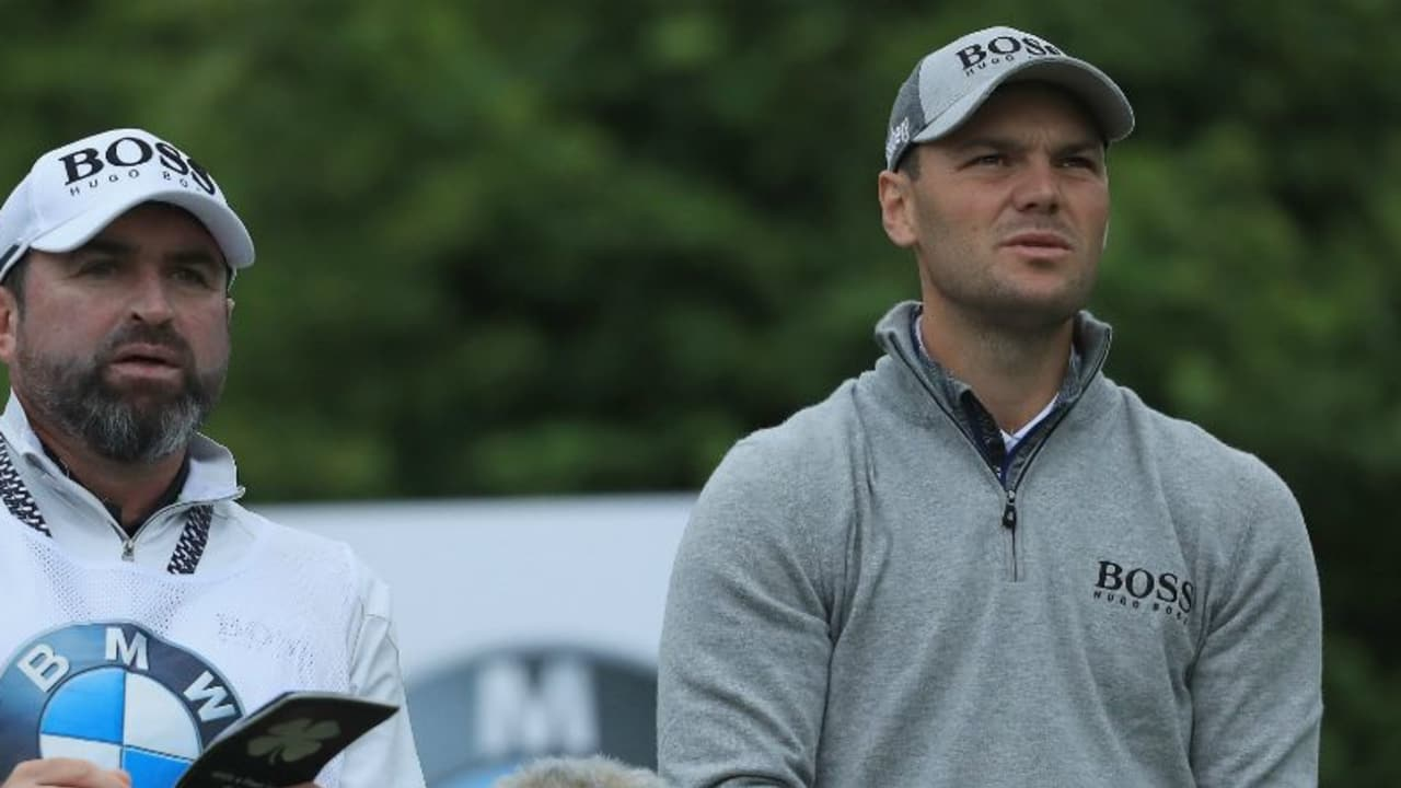 Martin Kaymer kämpft gegen den Wind bei der BMW International Open der European Tour. (Foto: Getty)