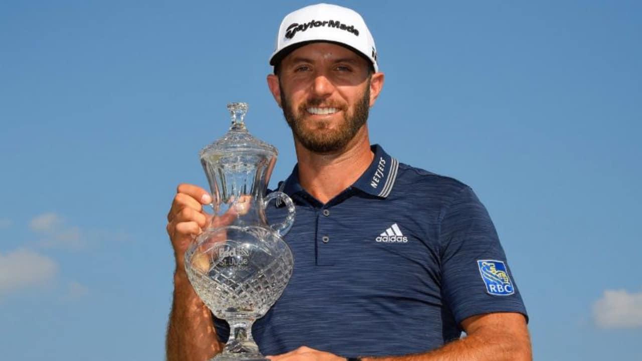 Mit seinem zweiten Saisonsieg auf der PGA Tour ist Dustin Johnson wieder die Nummer 1 der Welt. (Foto: Twitter/@DJohnsonPGA)