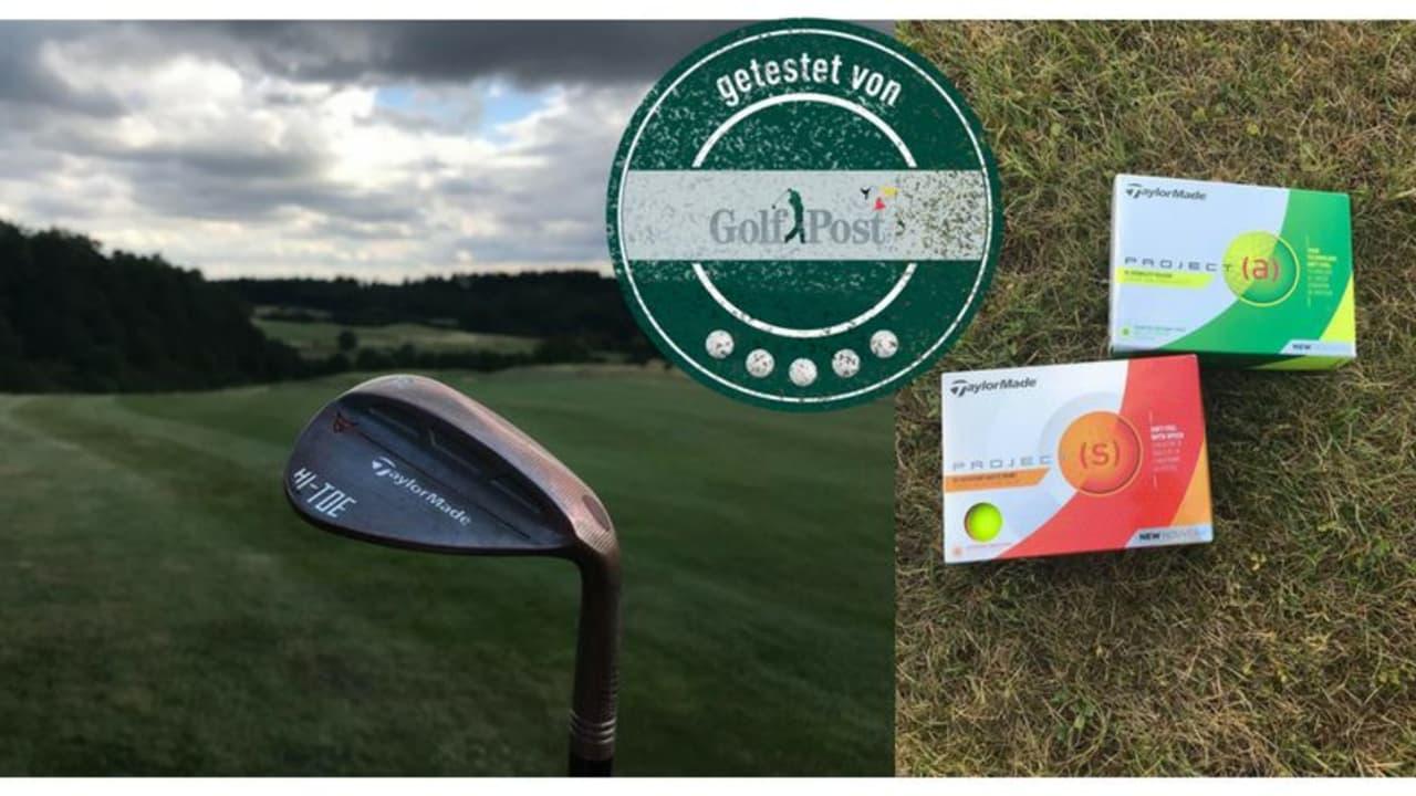Kurzes Spiel und das als Produkttest: Ein Wedge und zwei Dutzend Golfbälle von TaylorMade wurden unter die Lupe genommen. (Foto: Golf Post)