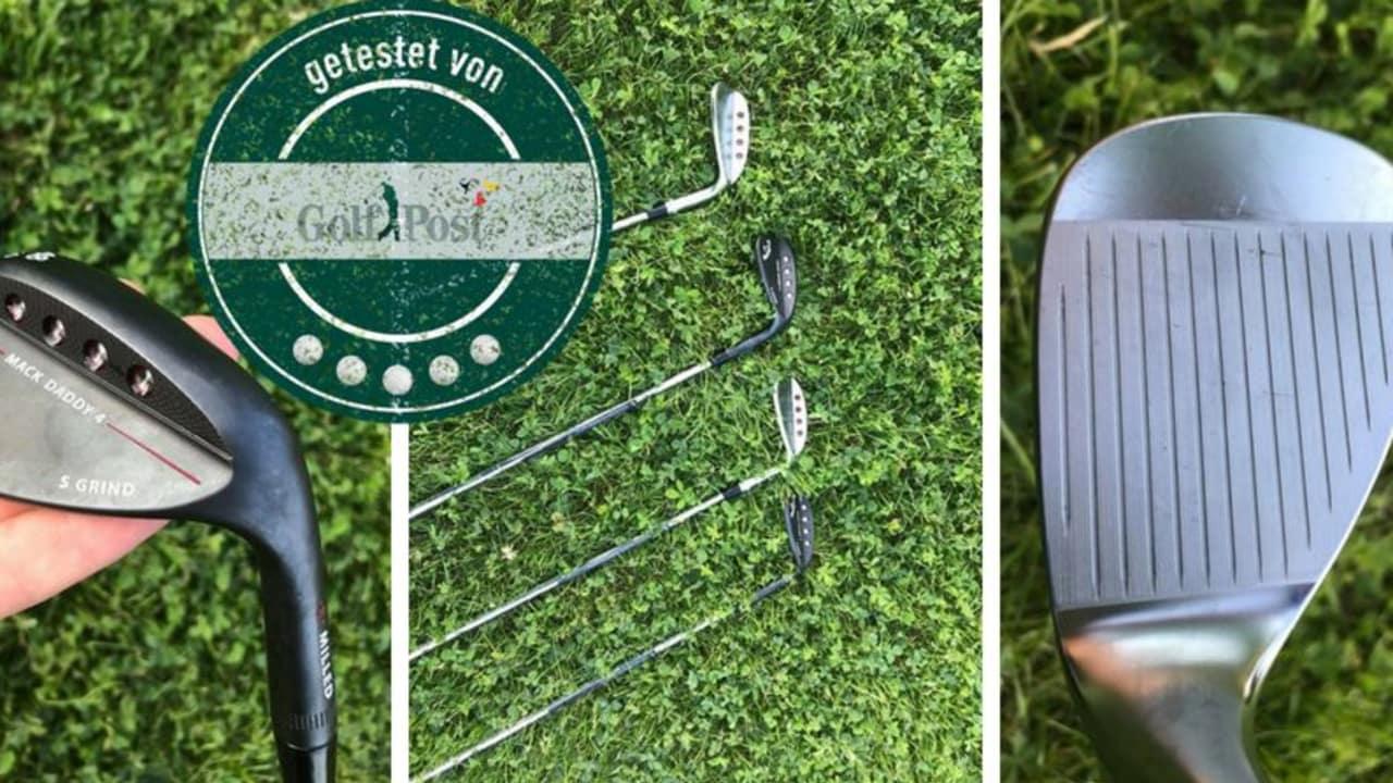 Vier Wedges - ein Urteil. Die Callaway Wedges haben im Produkttest richtig abgeliefert. (Foto: Golf Post)