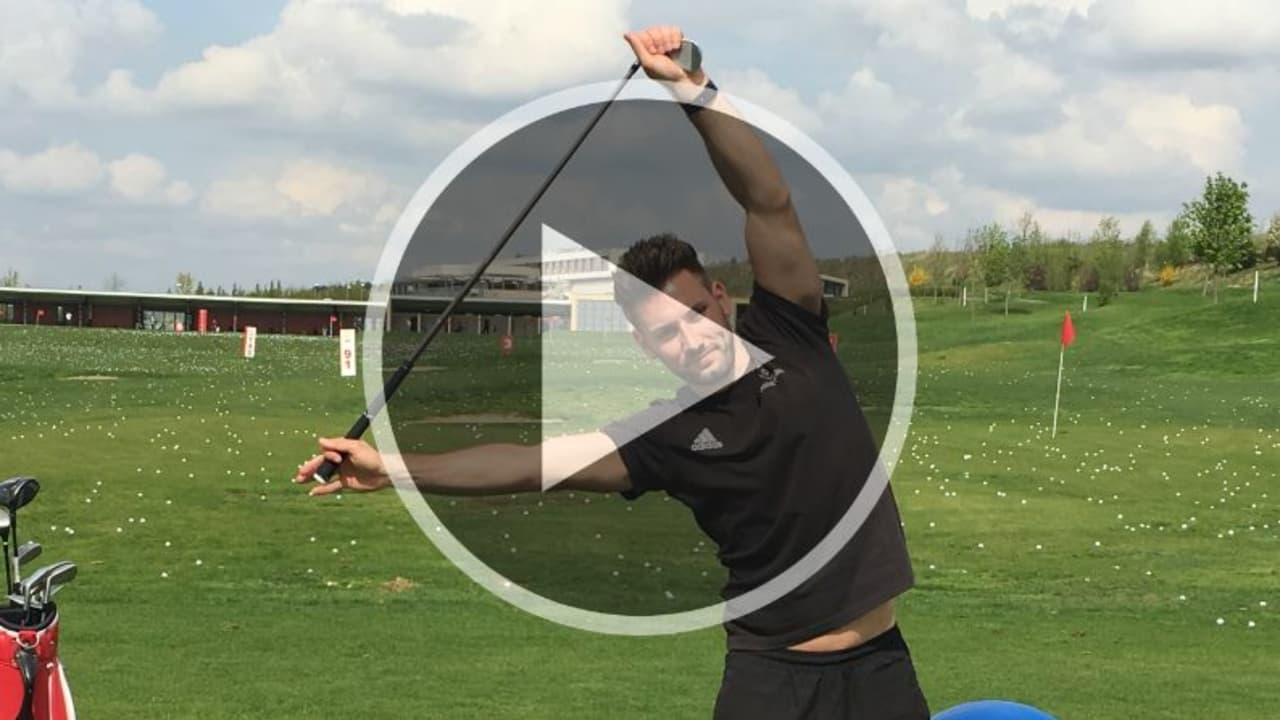 Mit diesen Golf-Fitness Übungen wärmen Sie sich für Ihre Golfrunde auf. (Foto: Golf Post)