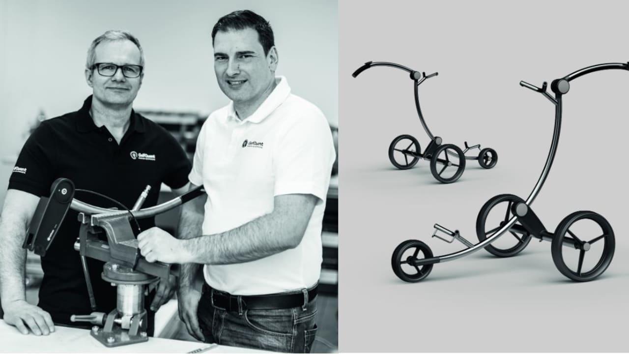 Jens Winternheimer und Udo Hübner vereint ihre Leidenschaft für Qualität. (Foto: GolfQuant)
