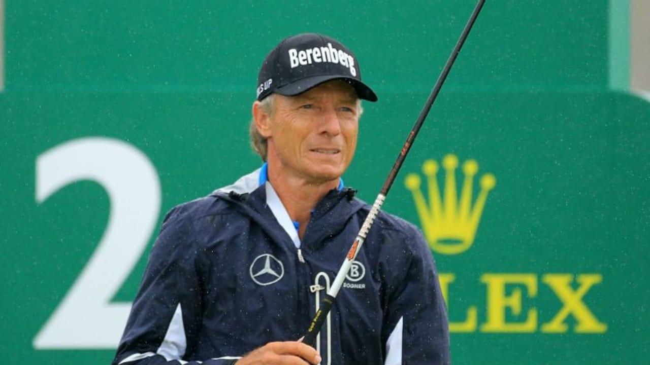 Bernhard Langer wird Zweiter bei der Senior Open Championship. (Foto: Getty)