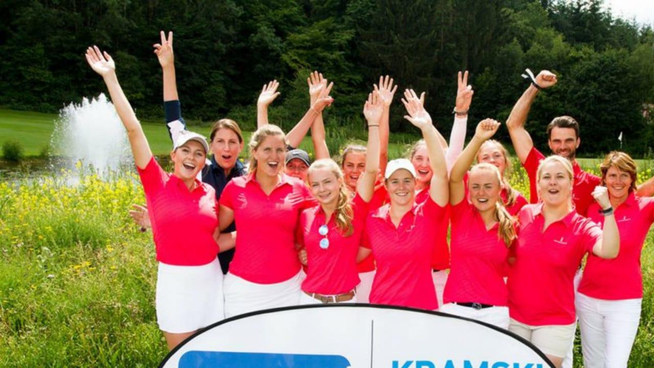 Die Damen des GC St. Leon Rot führen das Feld der Bundesliga Süd mit drei Punkten Vorsprung an. (Foto: DGV)