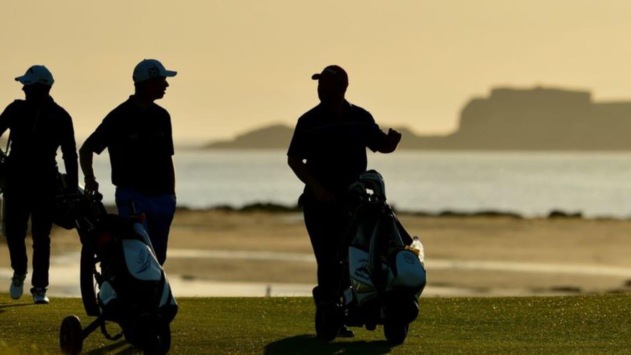 Die Hamburger Gesundheitswissenschaftlerin Andrea S. Klahre klärt auf: Golf ist gesund! (Foto: Getty)