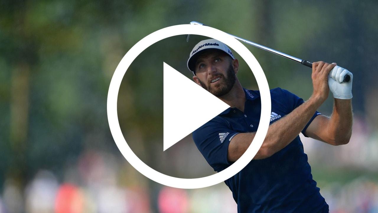 PGA Championship 2018 Video Dustin Johnson Ball