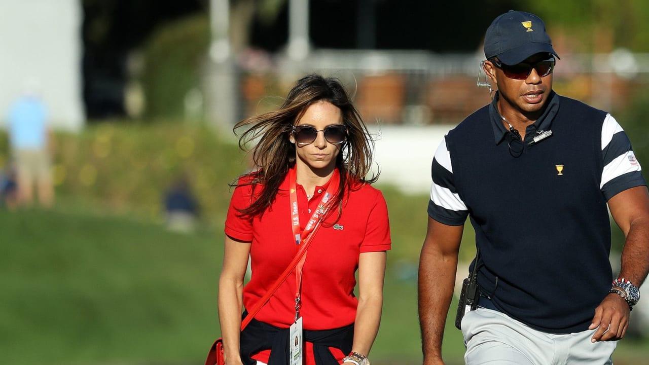 Tiger Woods Freundin Erica Herman Urlaub in der Schweiz vor WGC - Bridgestone Invitational