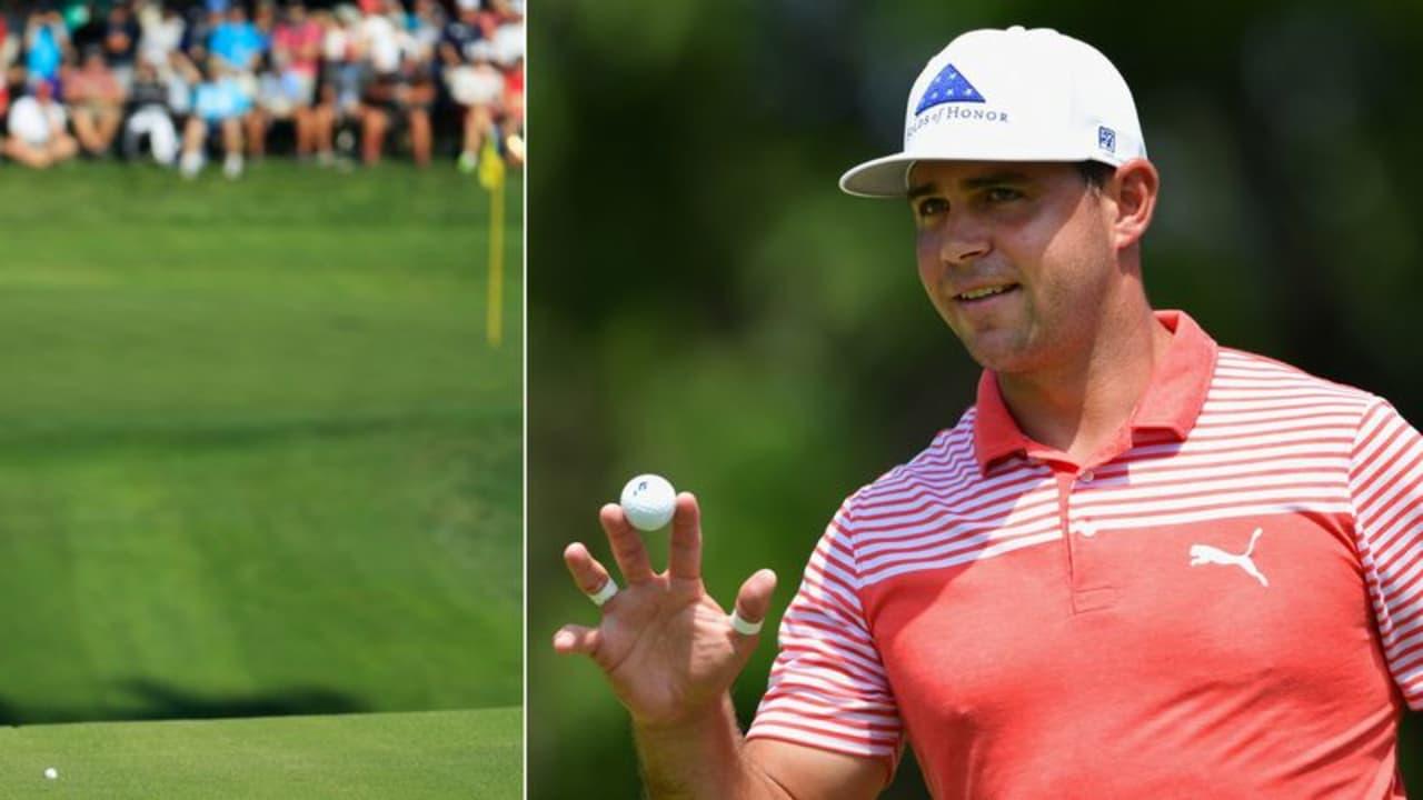 Tiger Woods spielt bei der PGA Championship 2018 stark auf, während Gary Woodland die Spitze verteidigt. (Foto: Getty)