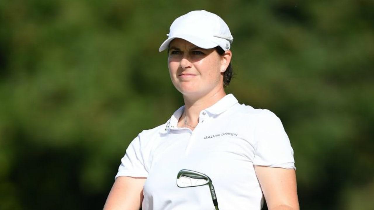 Caroline Masson lässt sich bei der Evian Championship nicht abhängen. (Foto: Getty)