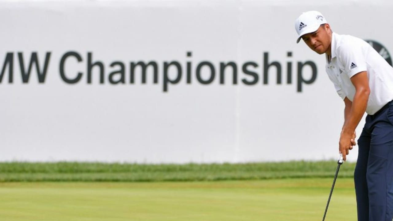 Xander Schauffele führt die BMW Championship der PGA Tour an. (Foto: Getty)