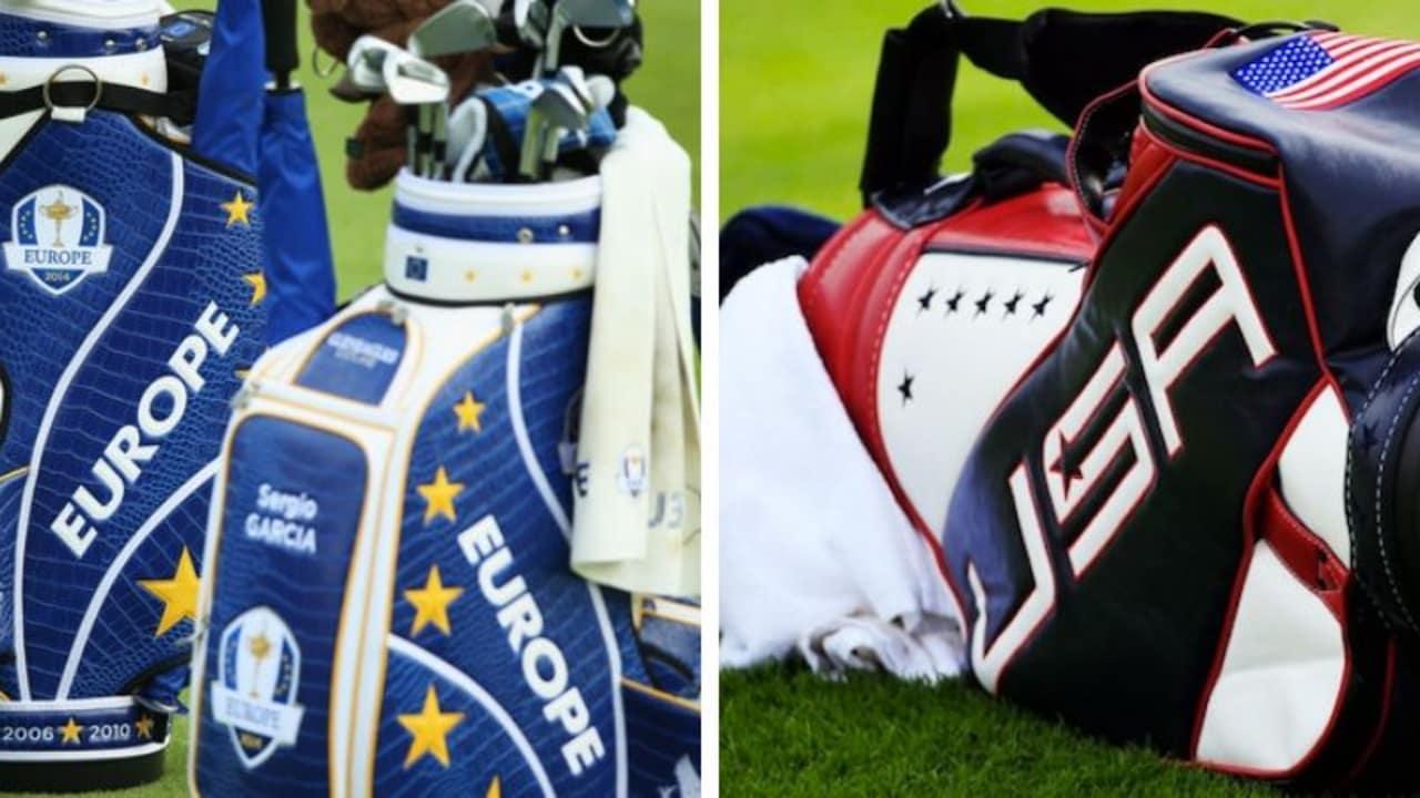 Wir haben einen Blick in die Bags der Teams beim Ryder Cup 2018 geworfen. (Foto: Getty)