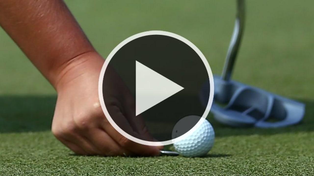Silas Wagner erklärt die neuen Golfregeln 2019. (Foto: Getty)