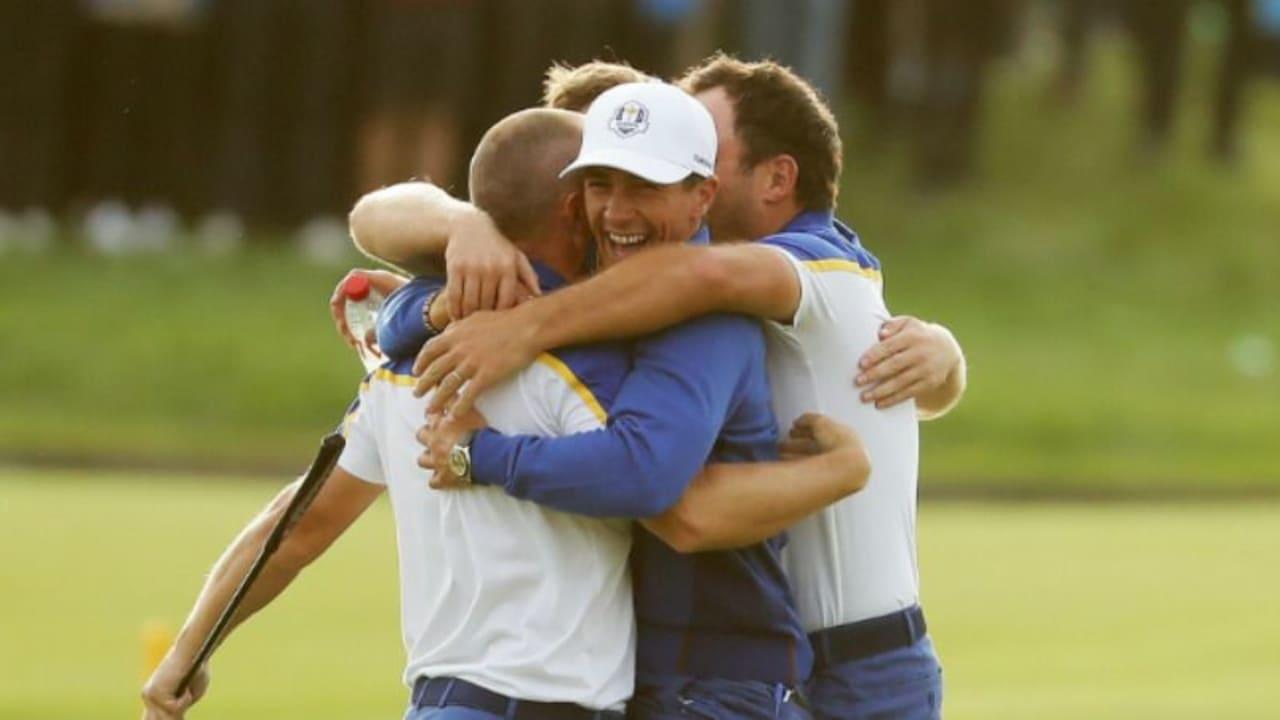 Teamgeist als einer der entscheidenden Faktoren beim Ryder Cup 2018. (Foto: Getty)