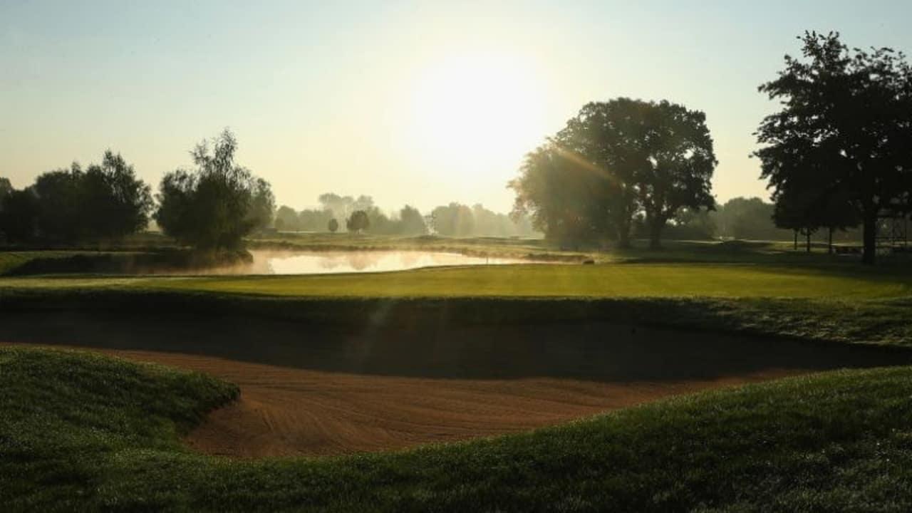Golf fördert die Gesundheit, schaut man sich das schöne Bild eines Golfplatzes bei Sonnenaufgang an, wird es einem doch ersichtlich oder? (Foto: Getty)