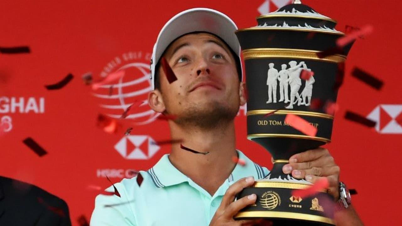 Xander Schauffele ist der glückliche Sieger bei der WGC - HSBC Champions. (Foto: Getty)