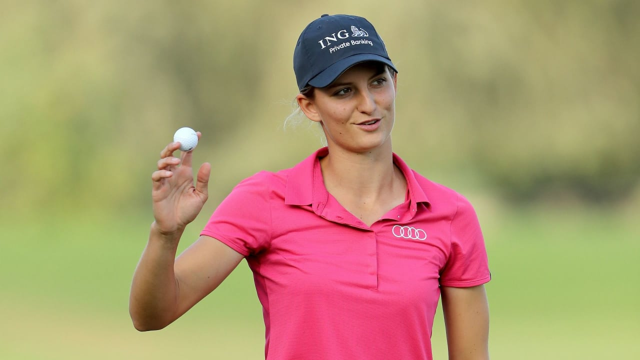 Anne van Dam gewinnt das Saisonfinale der Ladies European Tour in Spanien. (Foto: Getty)