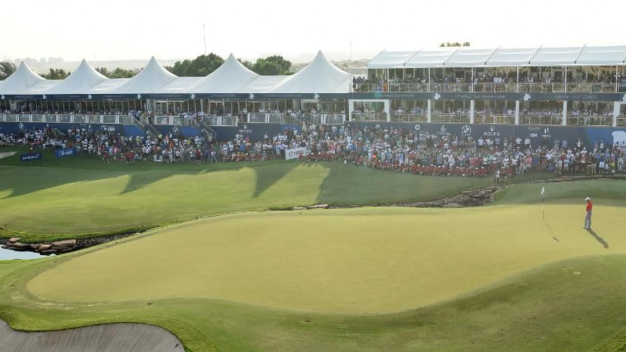 In den Jumeirah Golf Estates in Dubai wird das Saisonfinale der European Tour ausgetragen. (Foto: Getty)