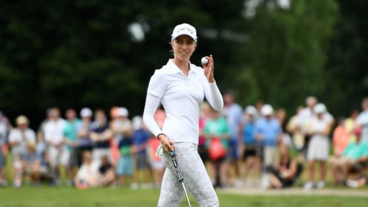 Sophia Popov schnappt sich bei der LPGA Q-Series in Pinehurst die LPGA Tourkarte. (Foto: Getty)