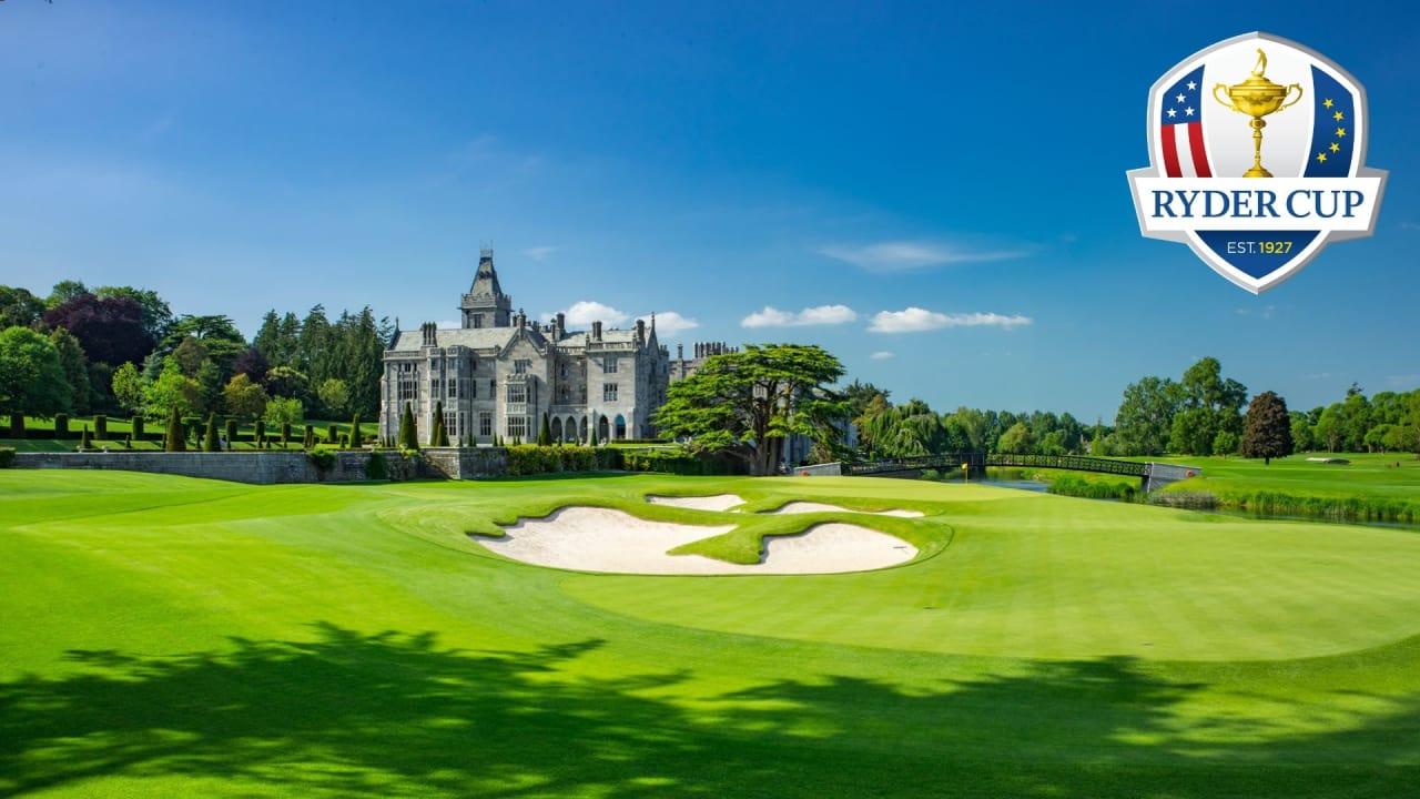 Adare Manor ist der Favorit für den Ryder Cup 2026. (Foto: Adare Manor Golf Club)