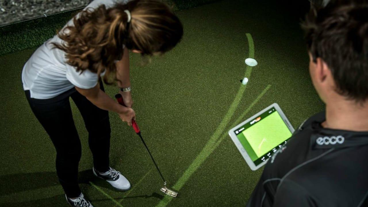 Mit ihrer Putttechnologie revolutionieren Lukas Posniak und Christoph Pregizer den Golfmarkt. (Foto: PuttView)