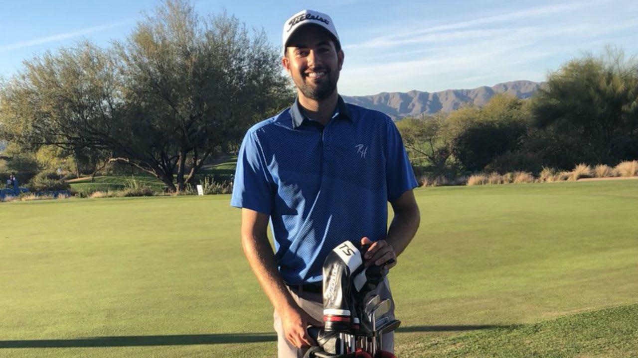 Mit geliehenen Schlägern spielte Cody Blick seine beste Runde bei der Web.com Tour Q-School. (Foto: Twitter.com/@PGATOURCanada)