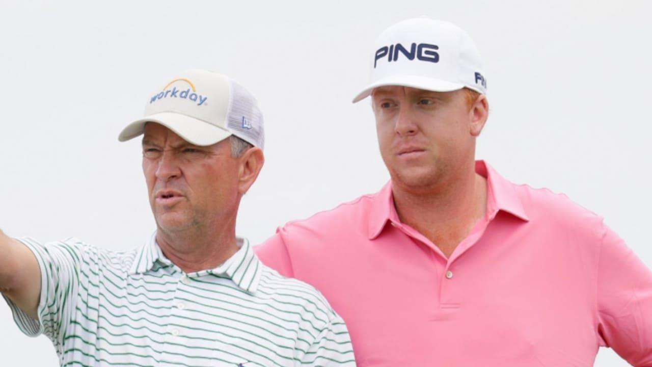 Davis Love III (li.) und Dru Love triumphieren bei der Father Son Challenge auf der Champions Tour. (Foto: Getty)
