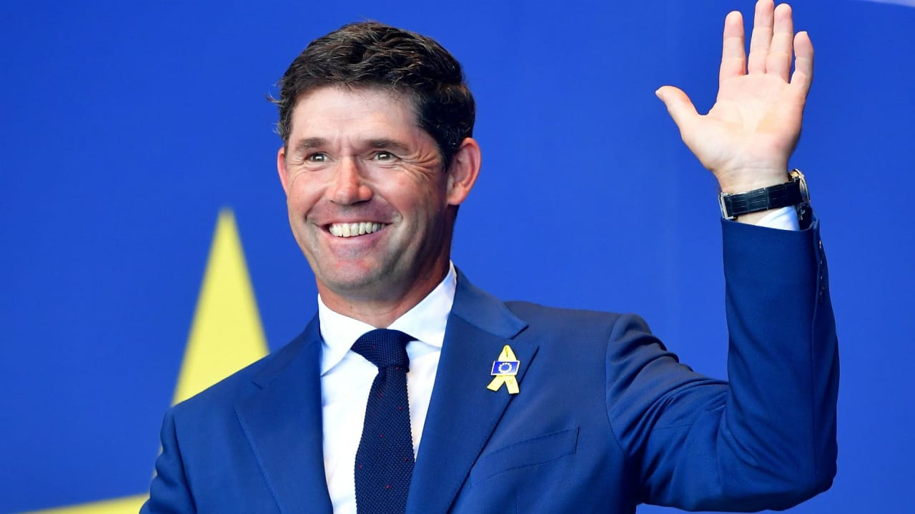 Padraig Harrington steht beim Ryder Cup 2020 am Steuer des europäischen Teams. (Foto: Getty)