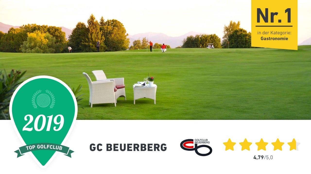 Erstklassige Gastronomie gibt es im GC Beuerberg, findet die Golf Post Community. (Foto: Golf Post)