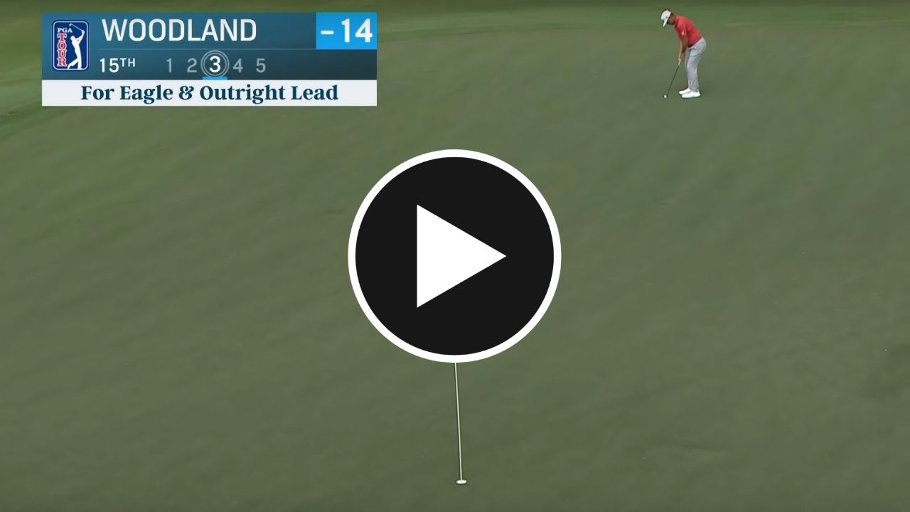Auf der PGA Tour fiel am Moving Day ein Monsterputt nach dem anderen. (Screenshot: Youtube.com/PGA Tour)
