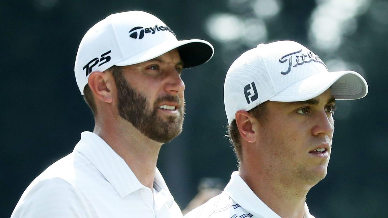 Dustin Johnson und Justin Thomas schlagen sich gut in der ersten Runde des Sentry Tournament of Champions der PGA Tour. (Foto: Getty)