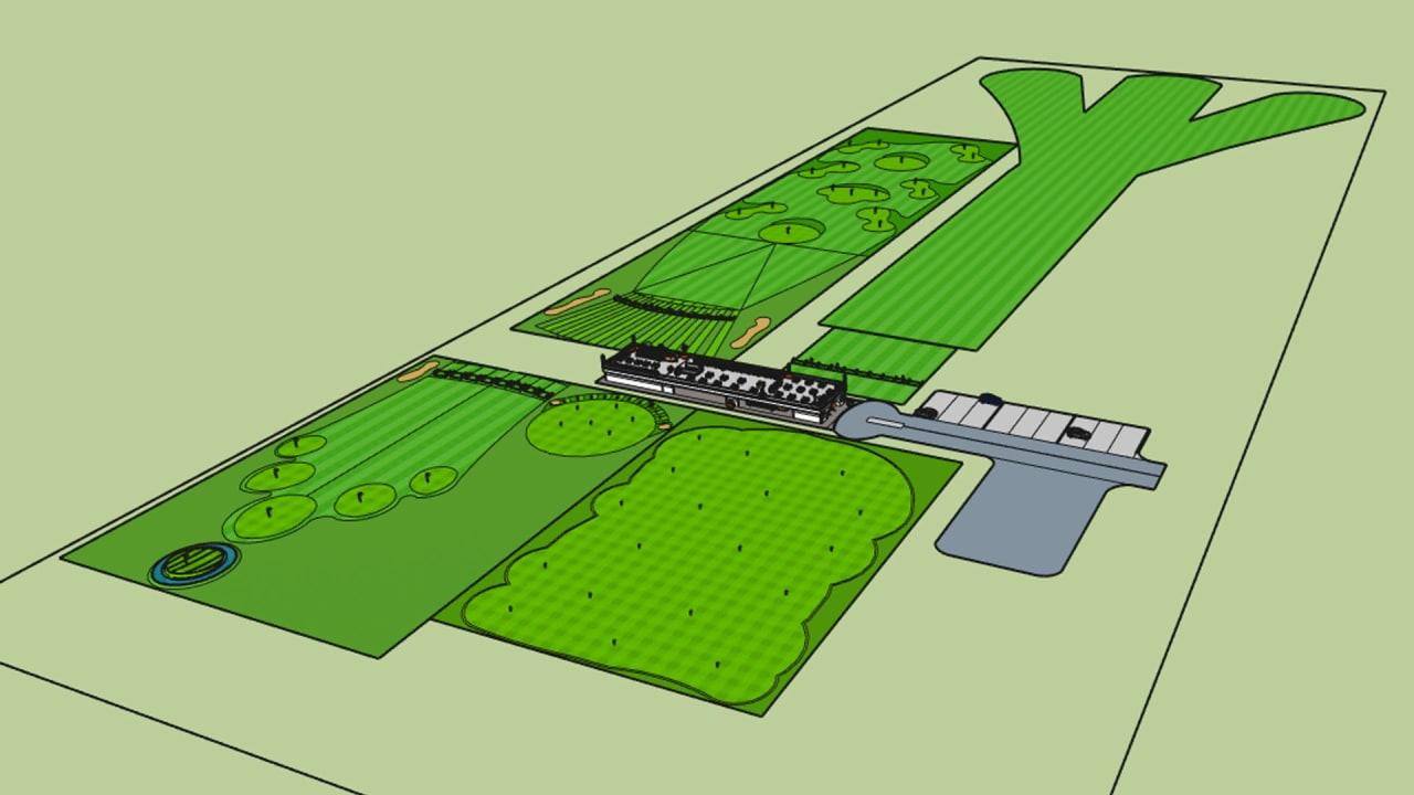 So soll der erste Standort von Golfuture in Calgary aussehen. (Foto: golfuture.net)