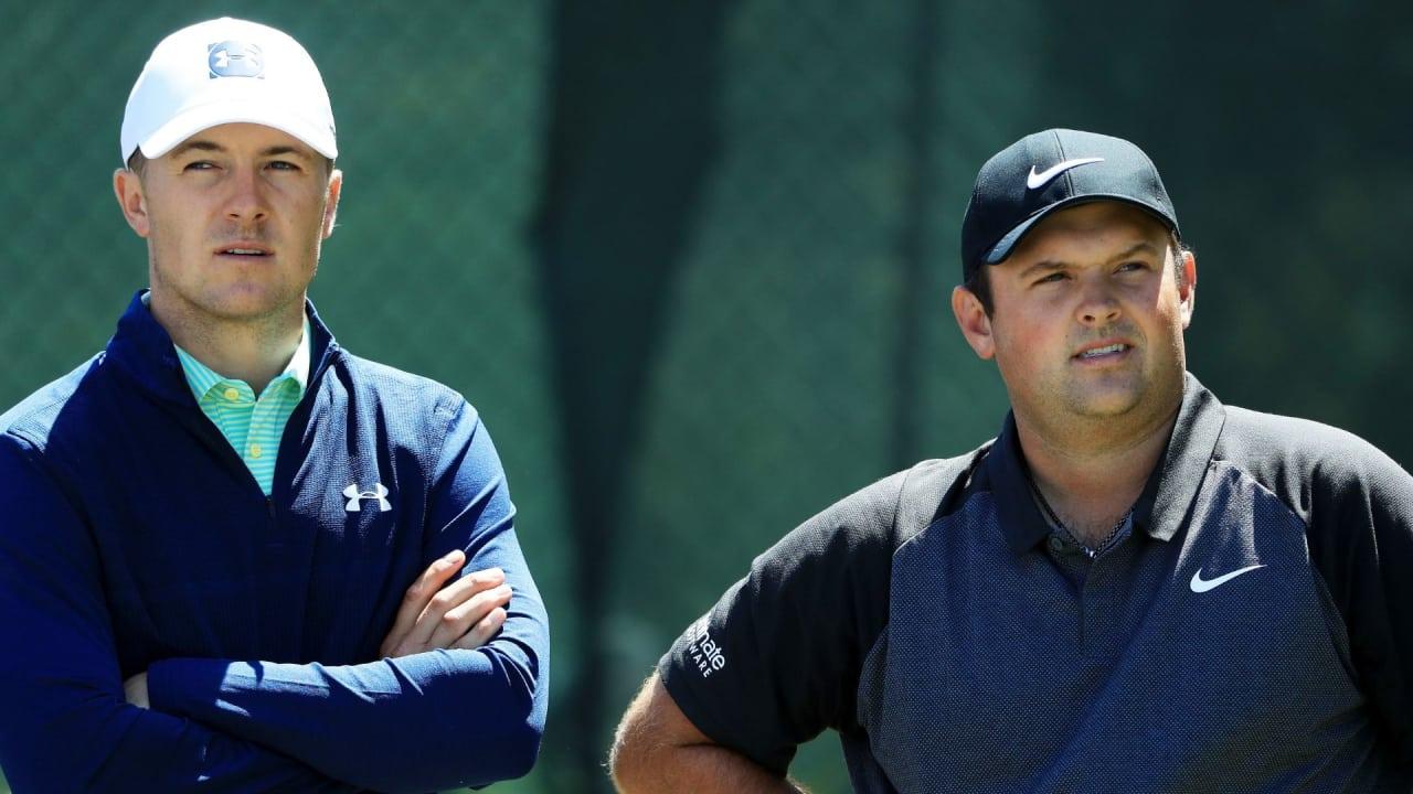 Die Streithähne Jordan Spieth und Patrick Reed zeigen Anzeichen einer Versöhnung. (Foto: Getty)