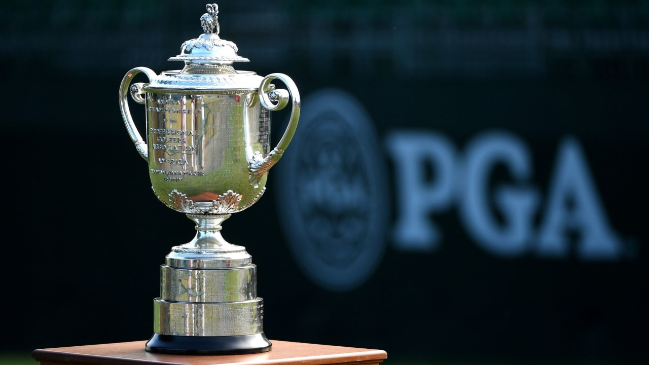 Das Objekt der Begierde bei der PGA Championship: Die Wanamaker Trophy. (Foto: Getty)