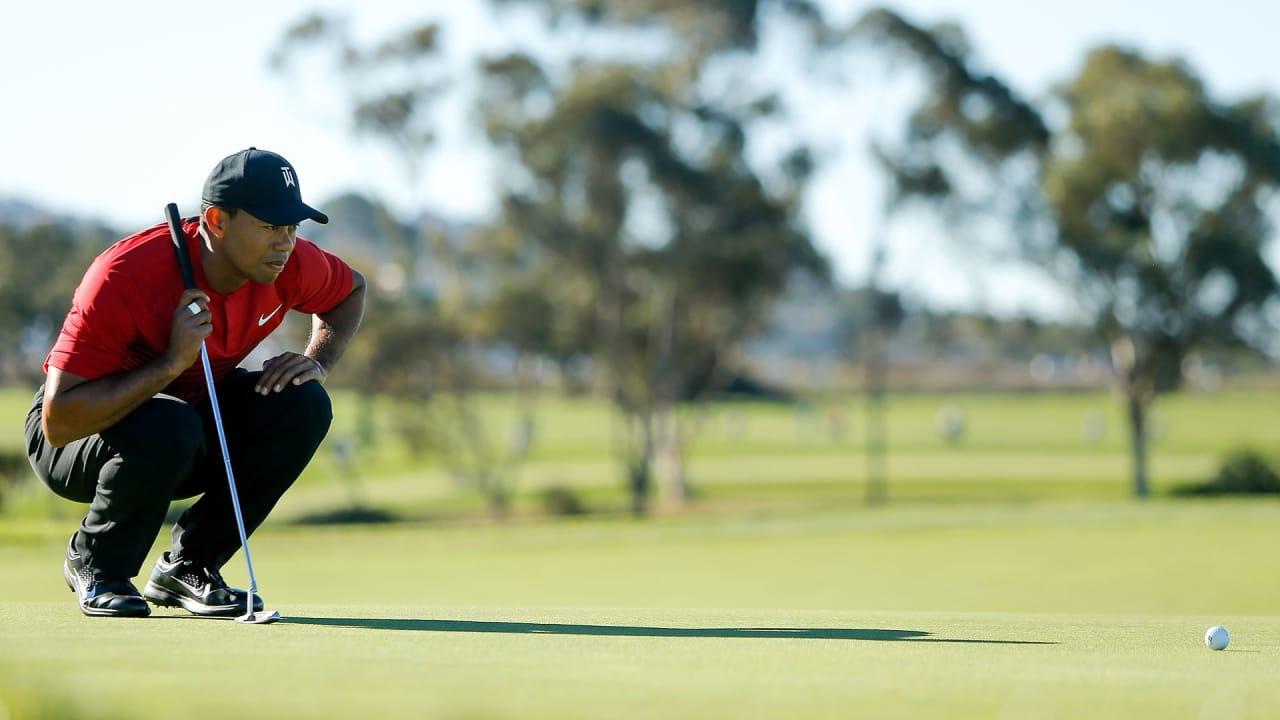 Tiger Woods startet wie letztes Jahr auch bei der Farmers Insurance Open in die neue Saison. (Foto: Getty)