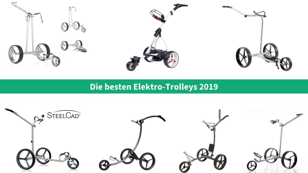 Wir haben für Sie die besten Elektro-Trolleys für die Saison 2019 zusammengefasst. (Foto: Golf Post)