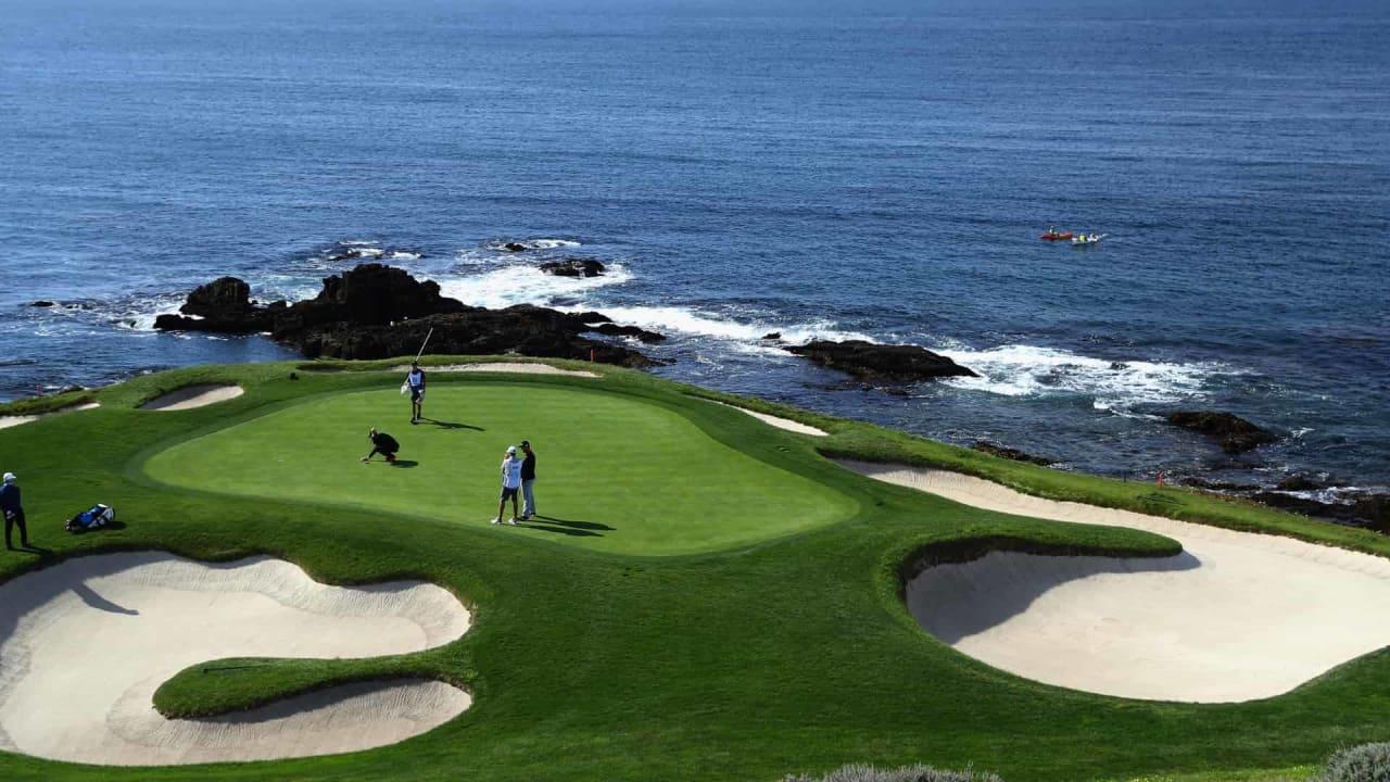 Die PGA Tour gastiert zum Pebble Beach Pro-Am an einem der prestigeträchtigsten Orte der Golfgeschichte. (Foto: Getty)