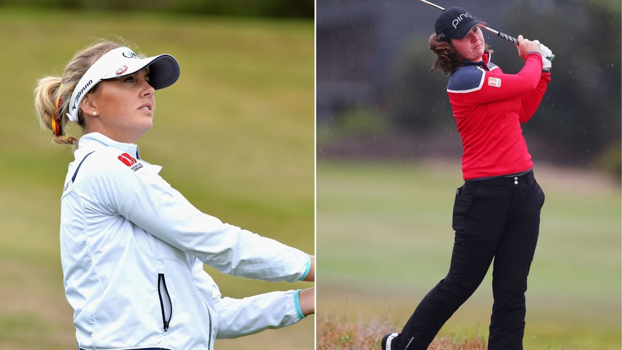 Olivia Cowan und Isi Gabsa in den Top 20 bei der ISPS Handa Vic Open 2019. (Foto: Getty)